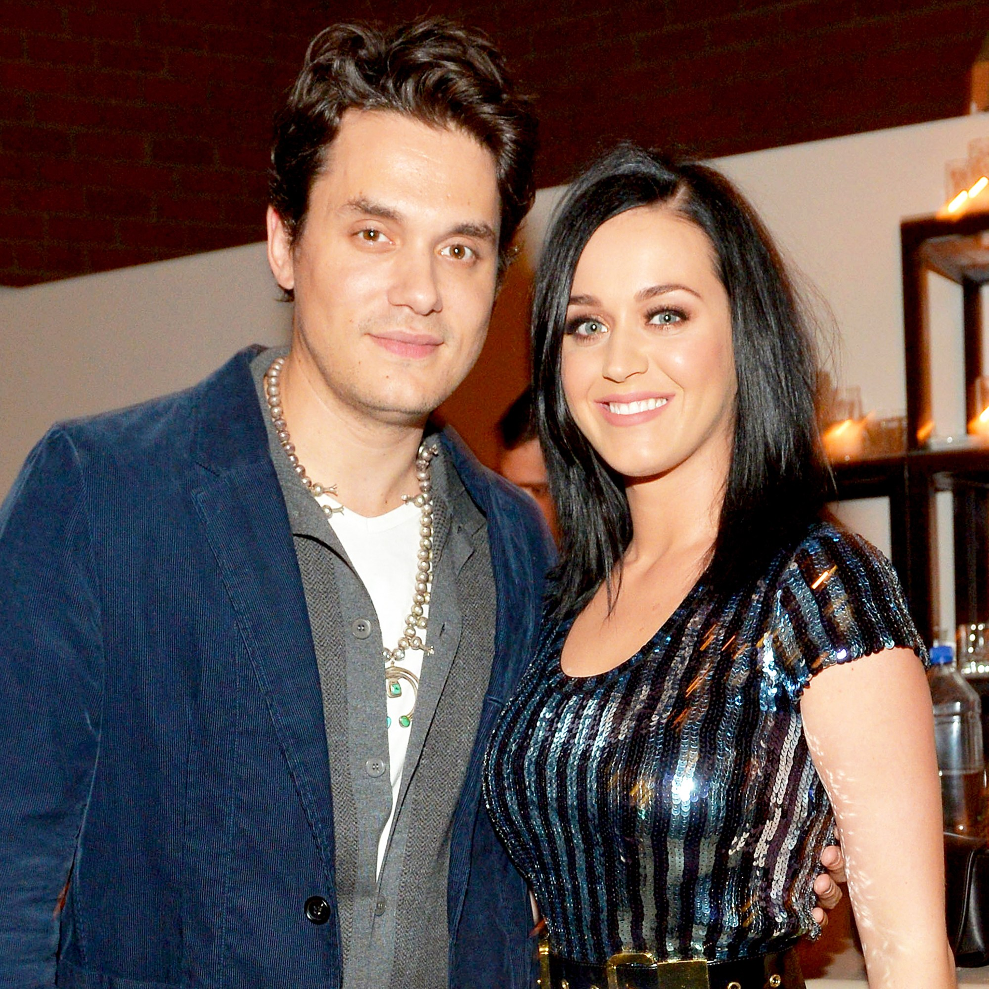 John Mayer and Katy Perry attend Hollywood Stands Up To Cancer Event with contributors American Cancer Society and Bristol Myers Squibb on January 28, 2014 in Culver City, California.